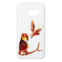 Tawny Owl Art Samsung Galaxy S7 Case