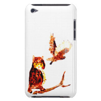 Tawny Owls Art iPod Touch Case-Mate Case