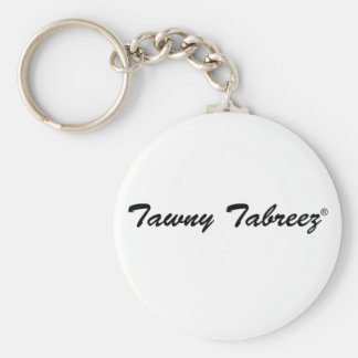 Tawny Tabreez® Basic Round Button Keychain