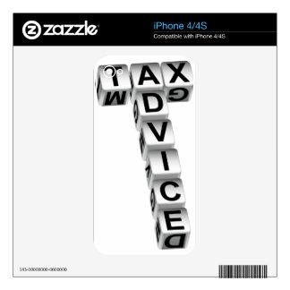 Tax Advice Crossword Puzzle Icon iPhone 4S Decals
