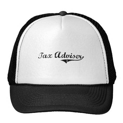 Tax Adviser Professional Job Trucker Hat