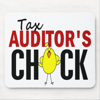 Tax Auditor's Chick Mouse Pads