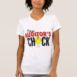 Tax Auditor's Chick T Shirts