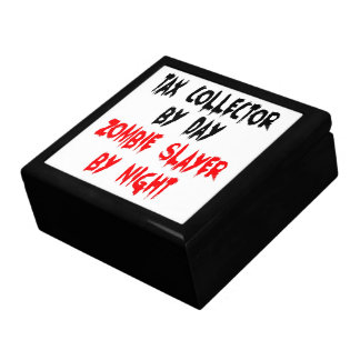 Tax Collector Zombie Slayer Trinket Box