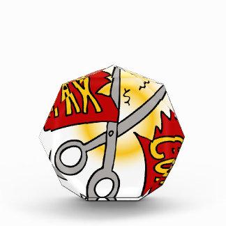Tax Cuts Cartoon Acrylic Award