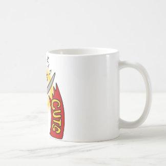 Tax Cuts Cartoon Coffee Mug