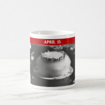 Tax Day Run For Cover Classic White Coffee Mug