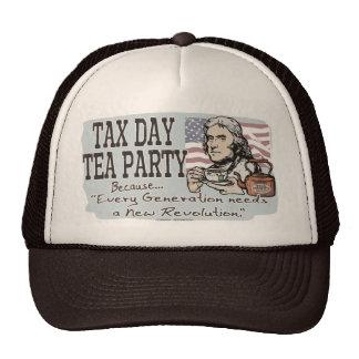 Tax Day Tea Party Gear Trucker Hat