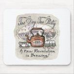 Tax Day Tea Party Gear Mouse Pads