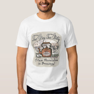 Tax Day Tea Party Gear T-shirt