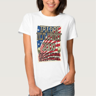 Tax Day Tea Party Revolt T-shirt