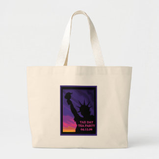 Tax Day Tea Party - Statue of Liberty Tote Bag