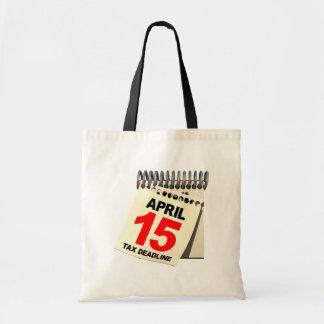 Tax Deadline Tote Bag
