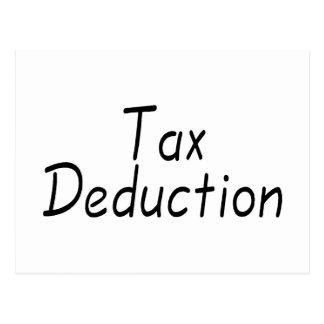 Tax Deduction Postcard