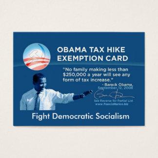 Tax Exempt Card