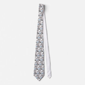 Tax Forms Neck Tie