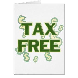 Tax Free Card