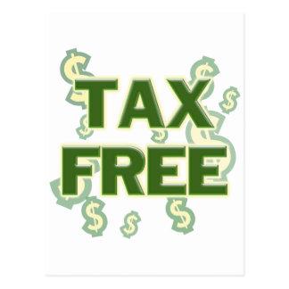 Tax Free Postcard