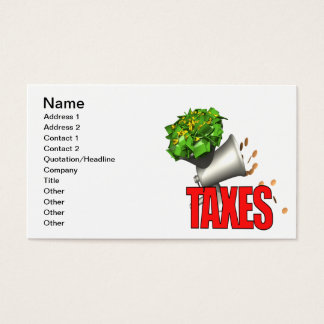 Tax Grinder Business Card