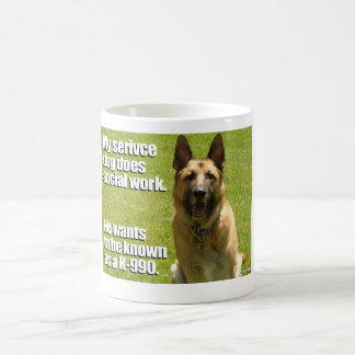 Tax Guide Dog: K-990 Coffee Mug