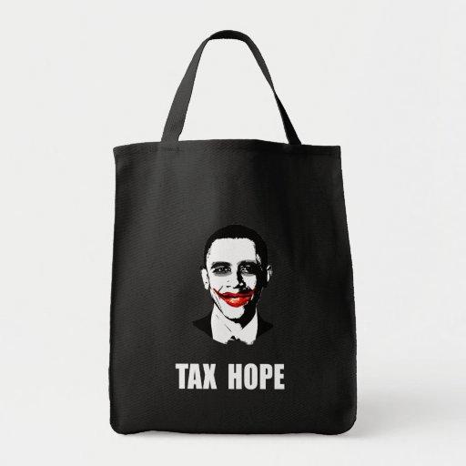 TAX HOPE CANVAS BAG