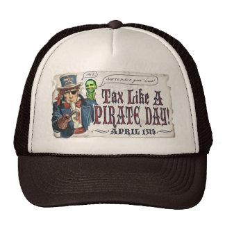 Tax like a Pirate Day Gear Hat