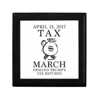 Tax March Jewelry Box