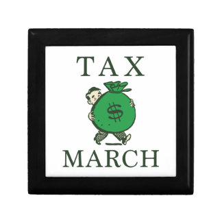 Tax March Keepsake Box