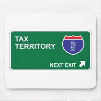 Tax Next Exit Mouse Pad