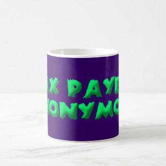 tax payers anonymous coffee mug
