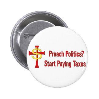Tax Political Churches Button