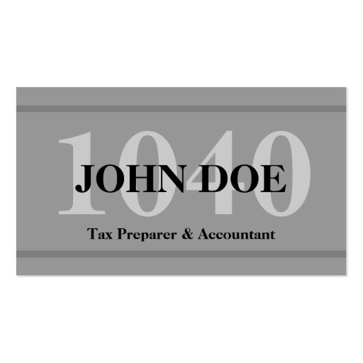 Tax preparation business card templates page2 bizcardstudio tax preparation 1040 graphite business card templates colourmoves