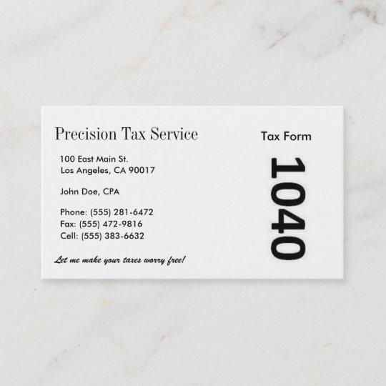 Tax preparation ww business card zazzle tax preparation ww business card colourmoves