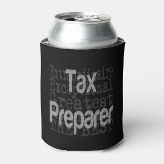 Tax Preparer Extraordinaire Can Cooler
