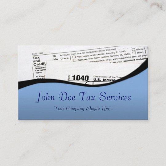 Tax preparer federal tax form business card zazzle tax preparer federal tax form business card colourmoves