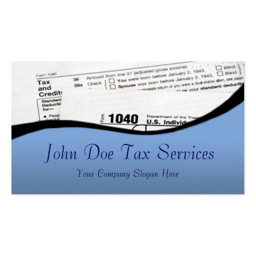 700 tax preparer business cards and tax preparer business for Tax business cards