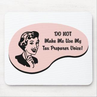 Tax Preparer Voice Mouse Pad