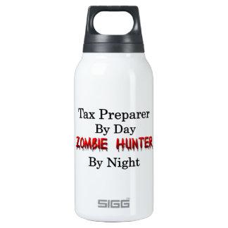 Tax Preparer/Zombie Hunter Thermos Water Bottle
