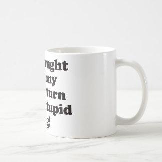 Tax Return - Mug