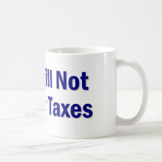Tax Saying Classic White Coffee Mug