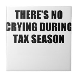 tax season ceramic tile