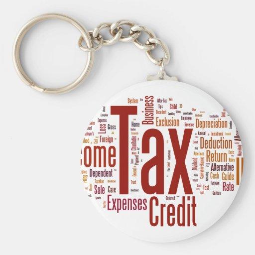 Tax season is here keychain