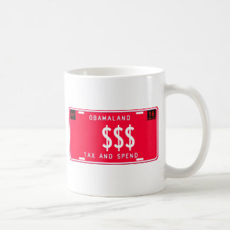 tax & spend coffee mug