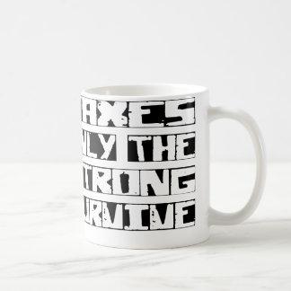 Tax Survive Coffee Mug