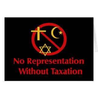 Tax The Churches Card
