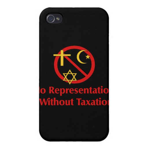 Tax The Churches iPhone 4/4S Cases