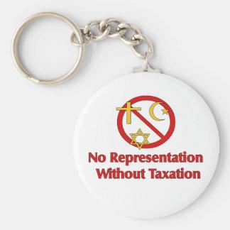 Tax The Churches Keychain