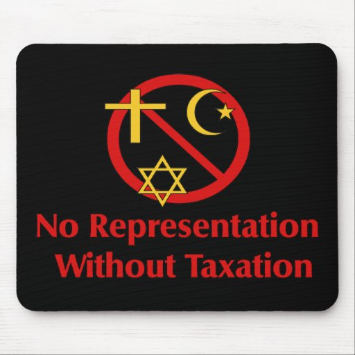 Tax The Churches Mouse Pad