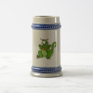 Tax the Dragon Beer Stein