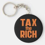 Tax The Rich Key Chain